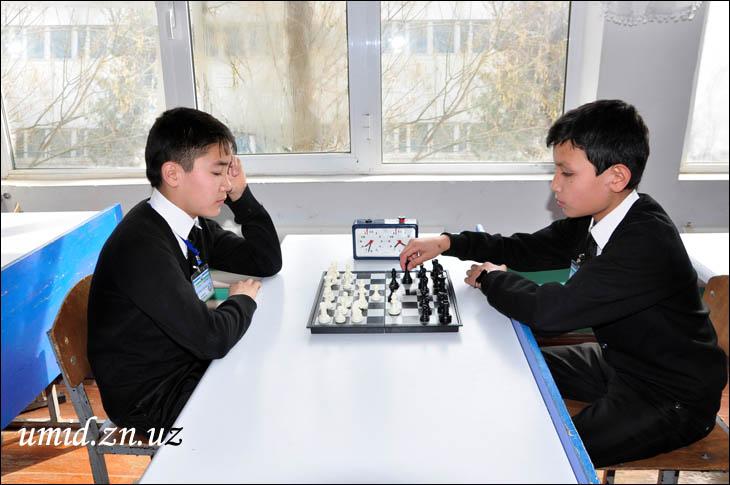 Шахмат мусобақалари ўтмоқда